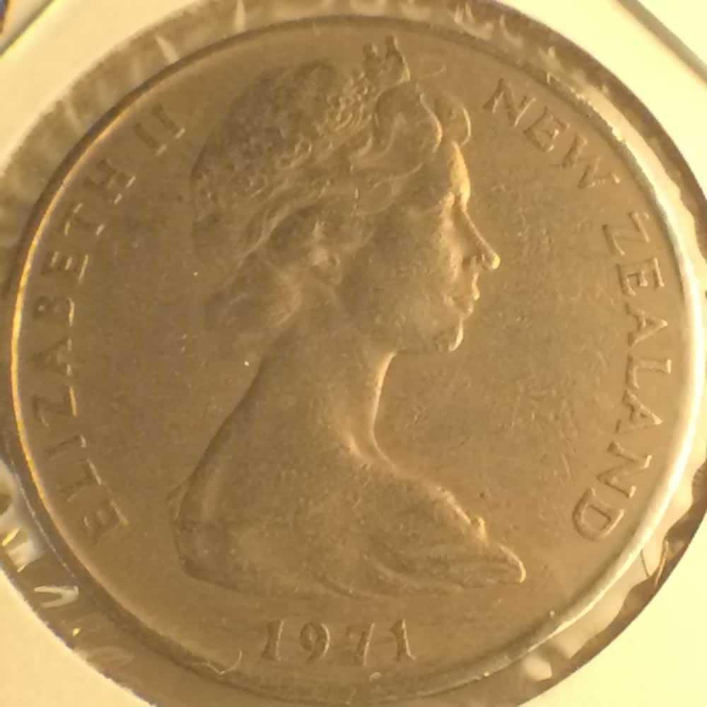 1971 New Zealand 1967 1985 Elizabeth Ii 20 Cents Ofcc Ungraded 20c Ofcc 106 395