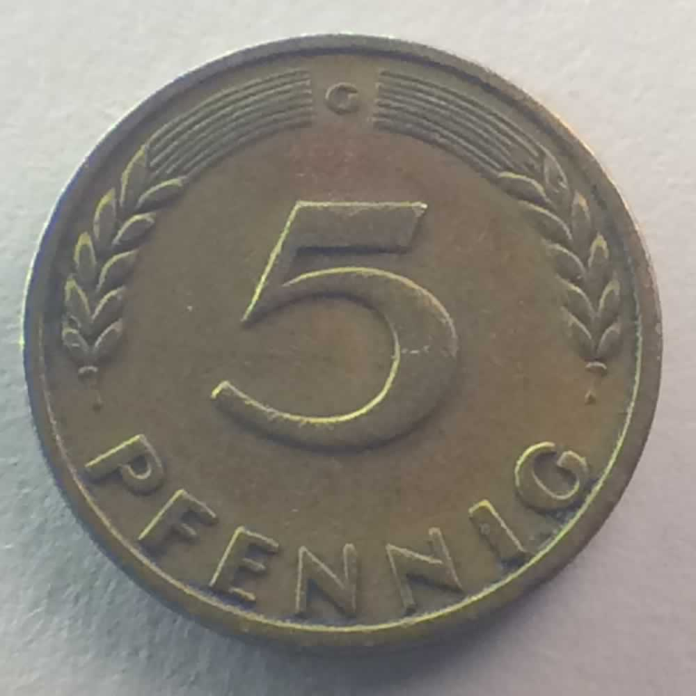 5 pfennig 1949
