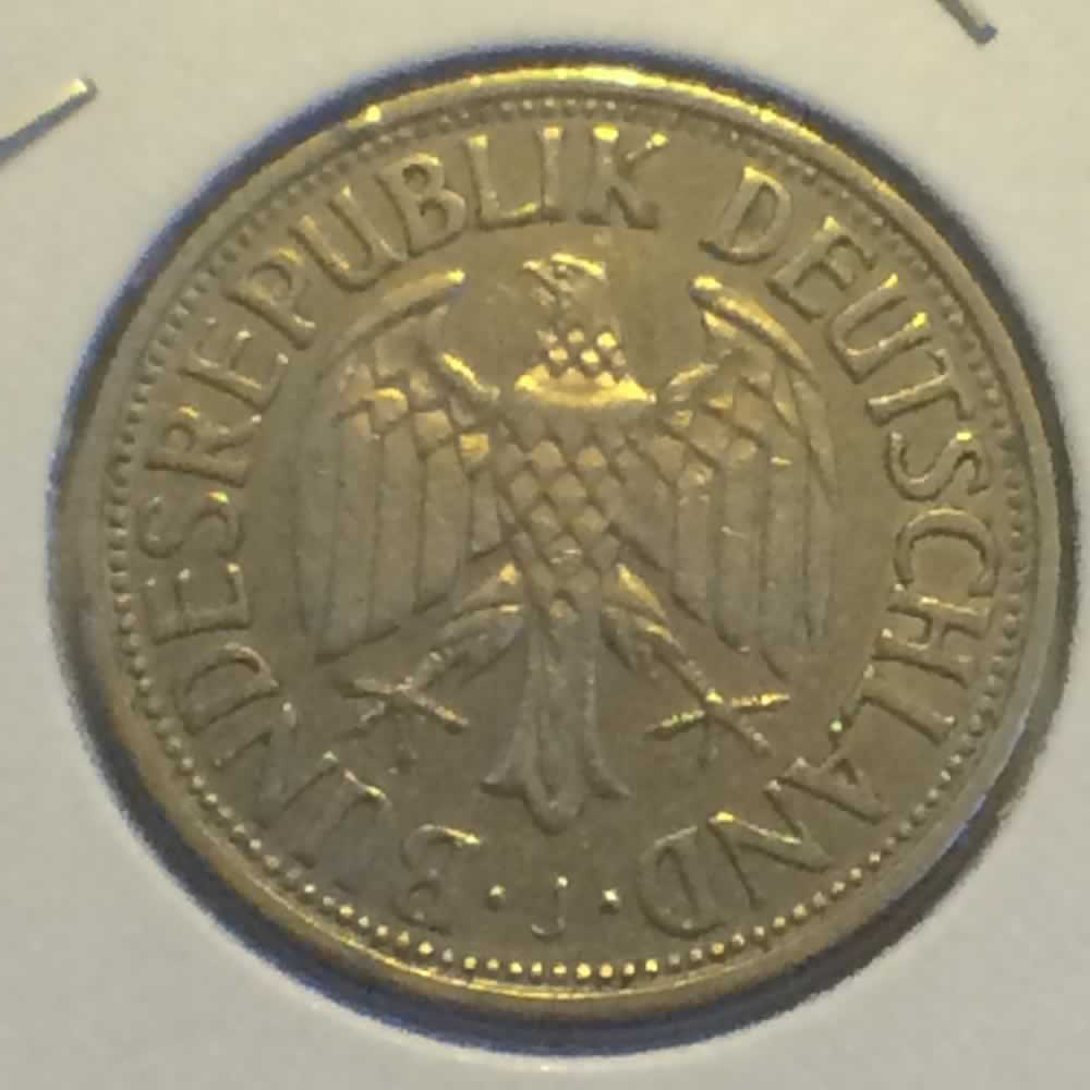 Germany 1956 J 1 Deutsche Mark ( DM 1 ) - Obverse