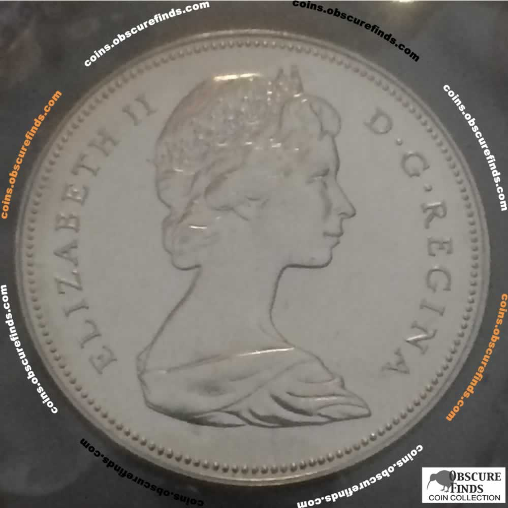 Canada 1970  Canadian Fifty Cents RCM ( C50C ) - Obverse