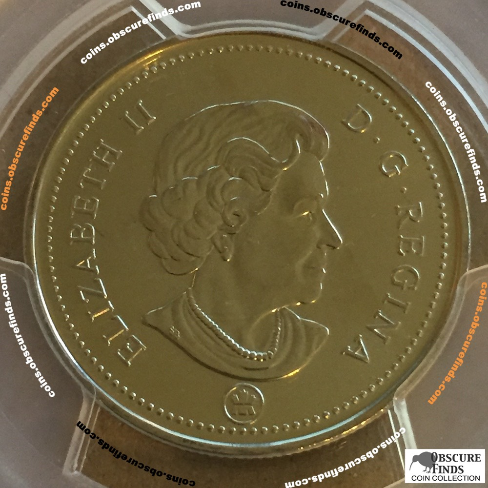 Canada 2007  PCGS Canadian Fifty Cents ( C50C ) - Obverse