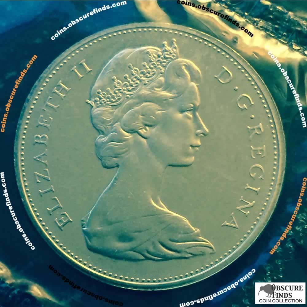 Canada 1965 Voyageur Silver Dollar SB B5 CS1