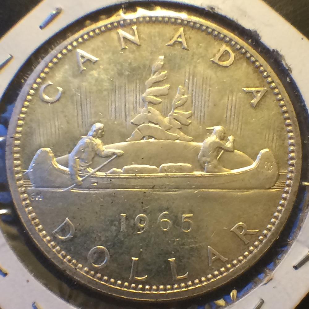 1965 Canada 1965 1966 Elizabeth Ii Canadian Silver