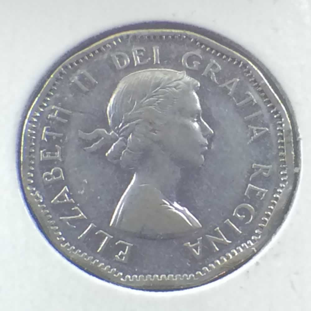 Canada 1954  Canadian 5 Cents - SF ( C5C ) - Obverse