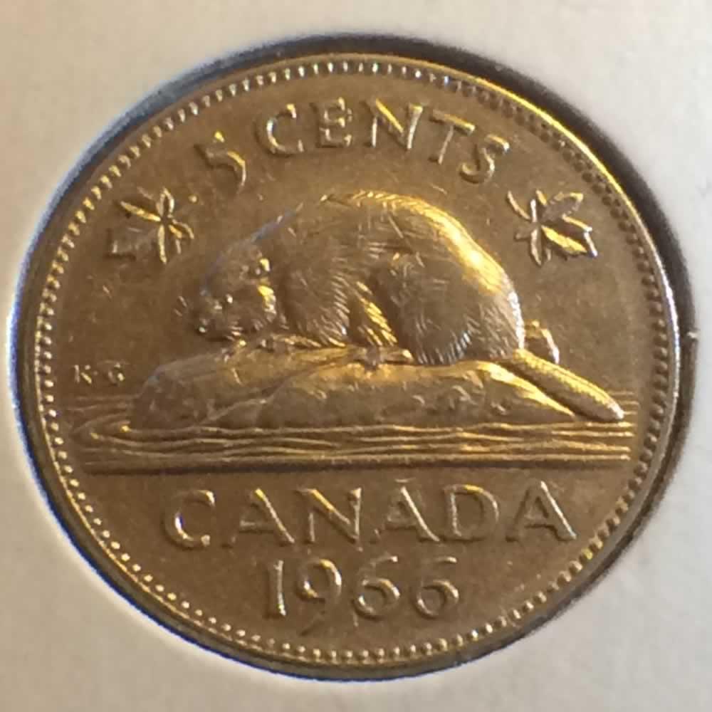 1966 Canada 1965 1981 Elizabeth Ii Canadian Five
