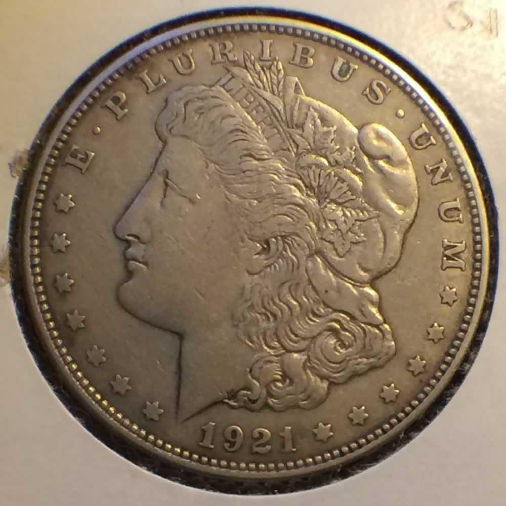 1921 D Us 1878 1921 Morgan Silver Dollar Ofcc