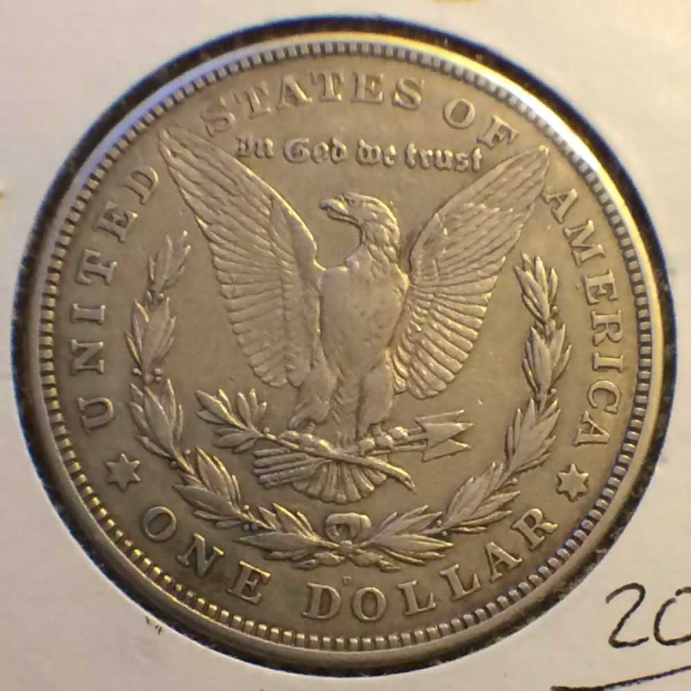 1921 D Us 1878 1921 Morgan Silver Dollar Ofcc