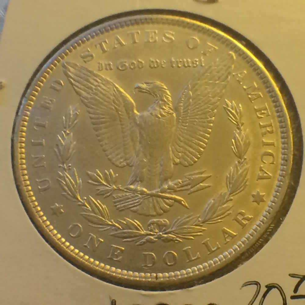 1889 Us 1878 1921 Morgan Silver Dollar Ofcc Ungraded