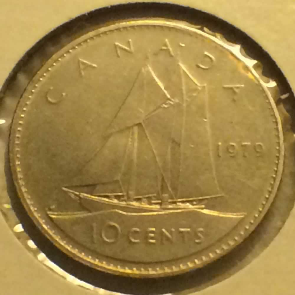 Canada 1979  Canadian Ten Cents ( C10C ) - Reverse