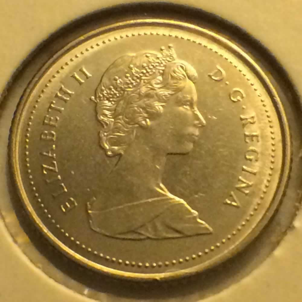 Canada 1989  Canadian Ten Cents ( C10C ) - Obverse