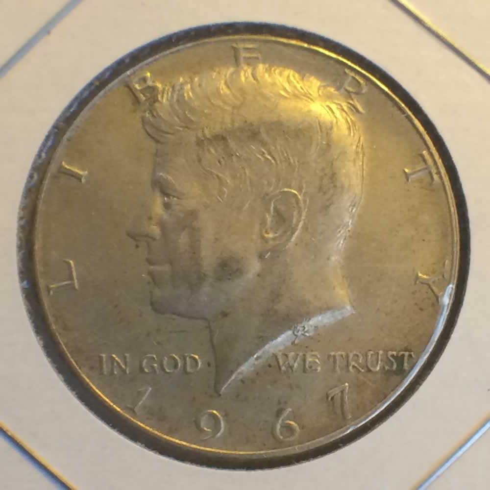 1967 Us 1965 1970 Kennedy Half Dollar 40 Silver Clad