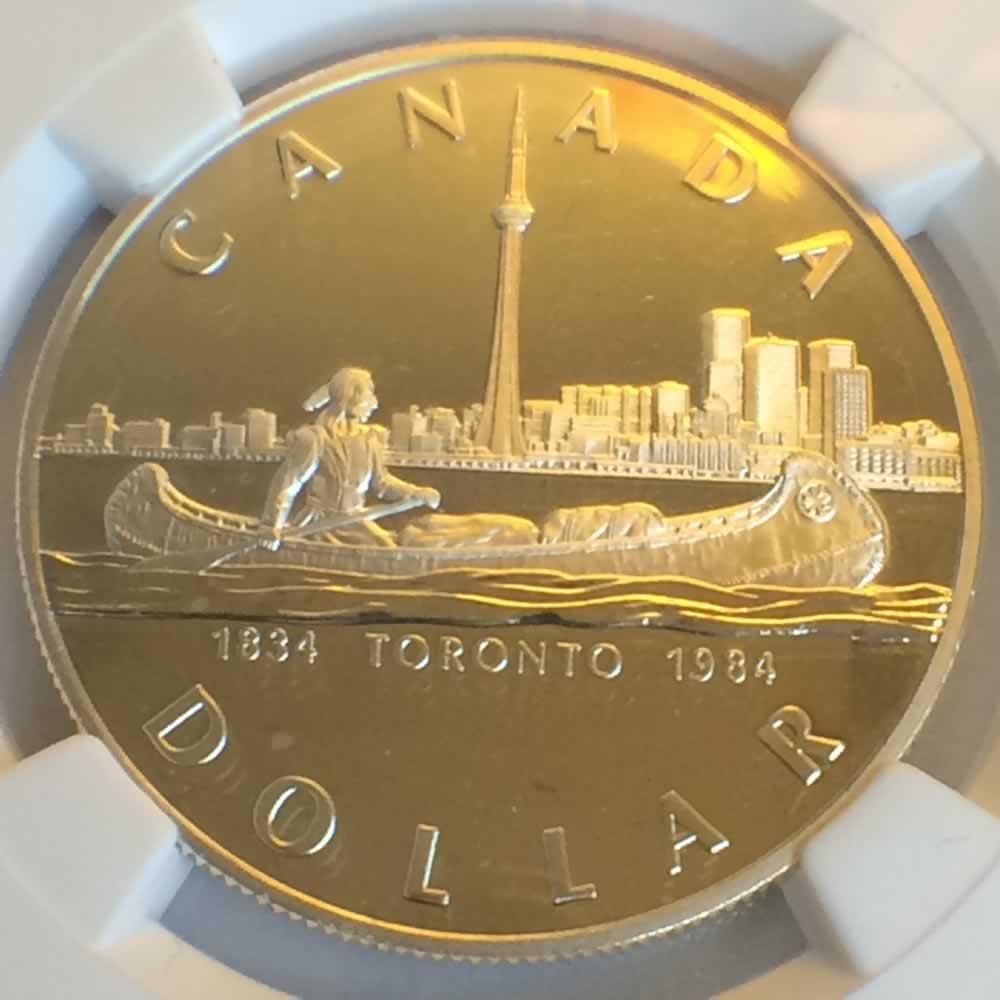 1984 Canada 1984 Elizabeth Ii Toronto