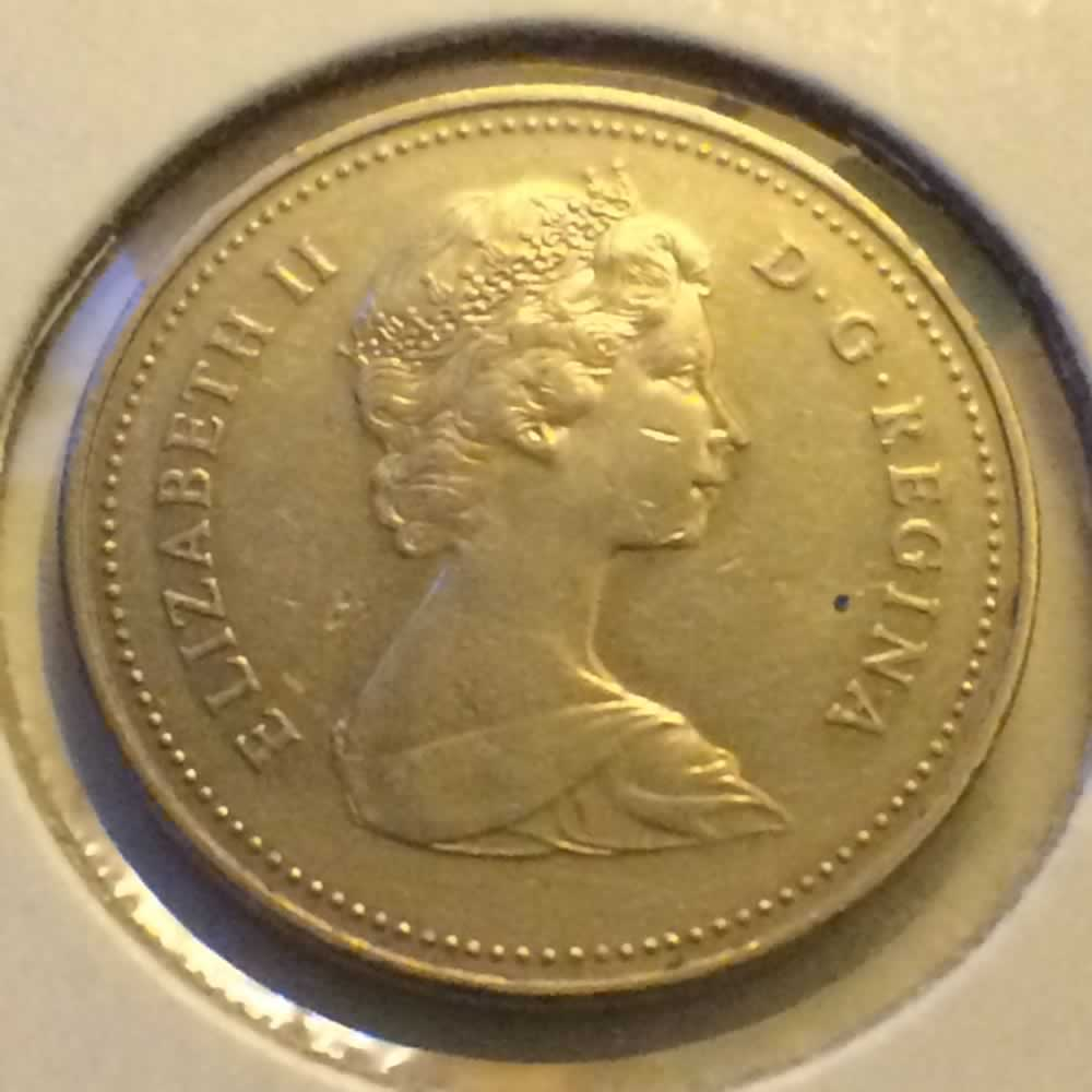 1982 Canada 1982 1989 Elizabeth Ii Canadian Five Cents Ofcc Ungraded C5c Ofcc 226 1101