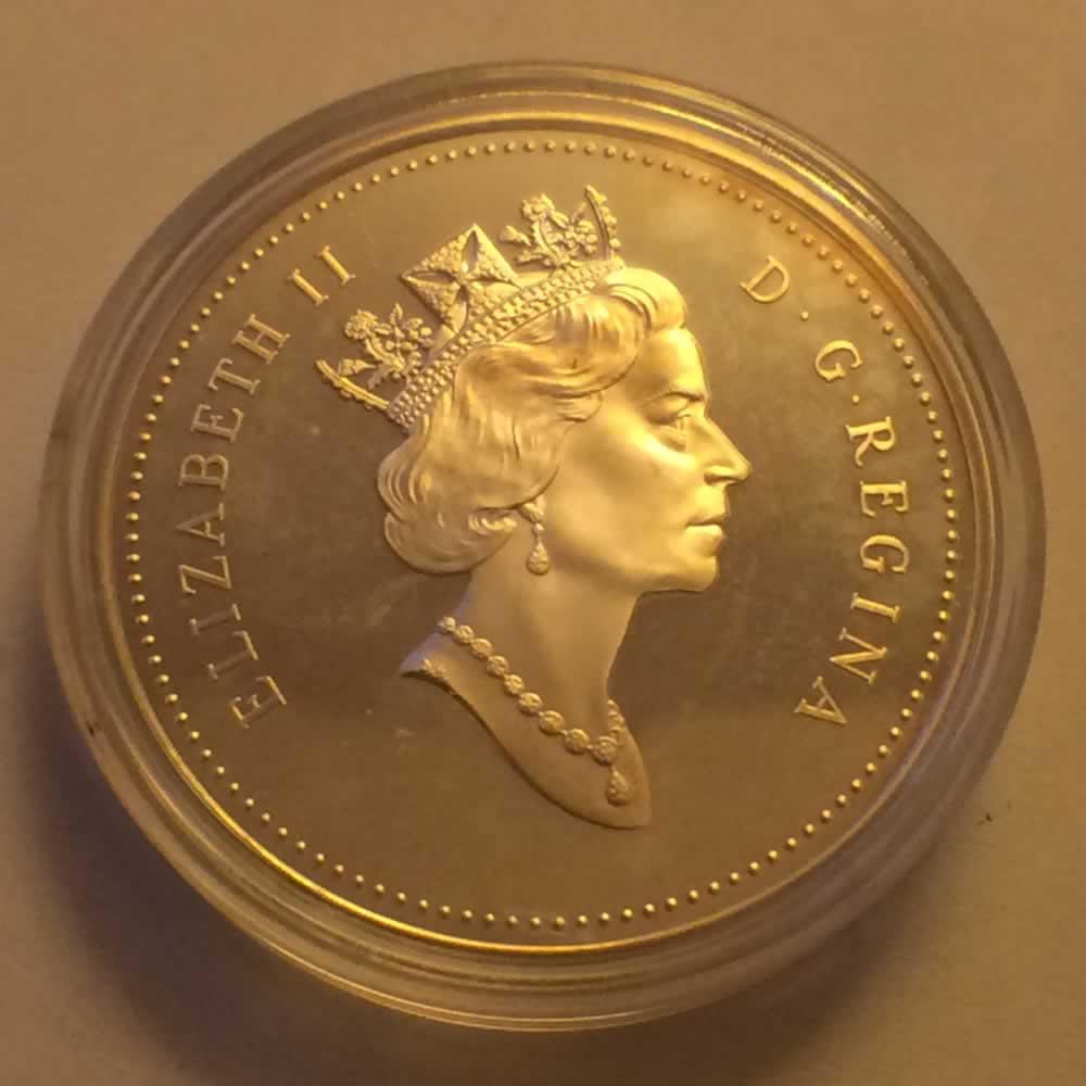 1995 Canada 1995 Elizabeth Ii Hudson Bay Company