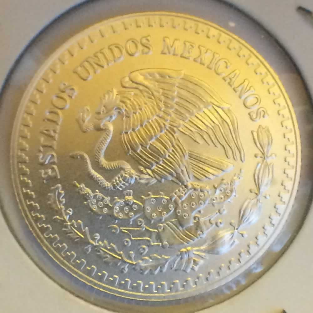 Mexico 2014 Mo 4th Onza Libertad ( 1/4ozt ) - Obverse