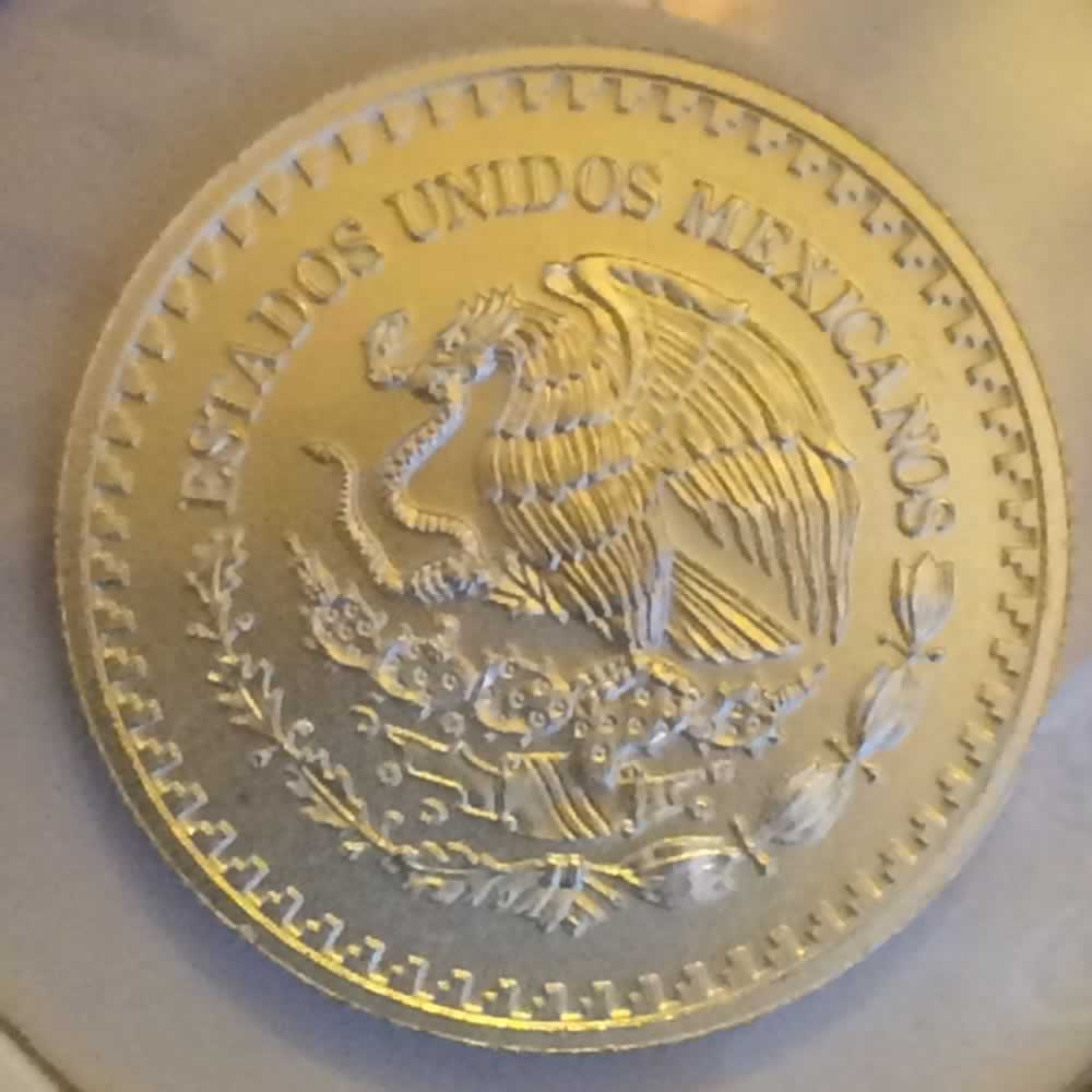 Mexico 2014 Mo 10th Onza Libertad ( 1/10ozt ) - Obverse