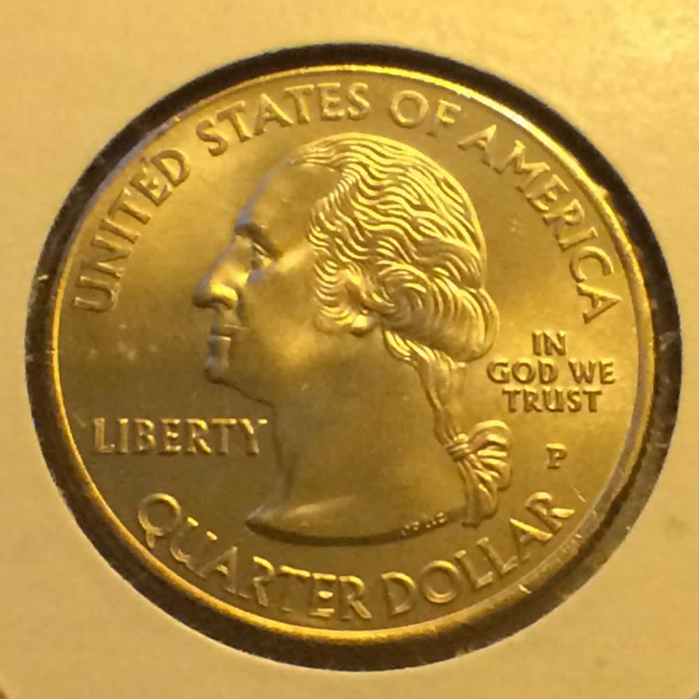 US 2009 P US Virgin Islands Quarter ( 25C ) - Obverse
