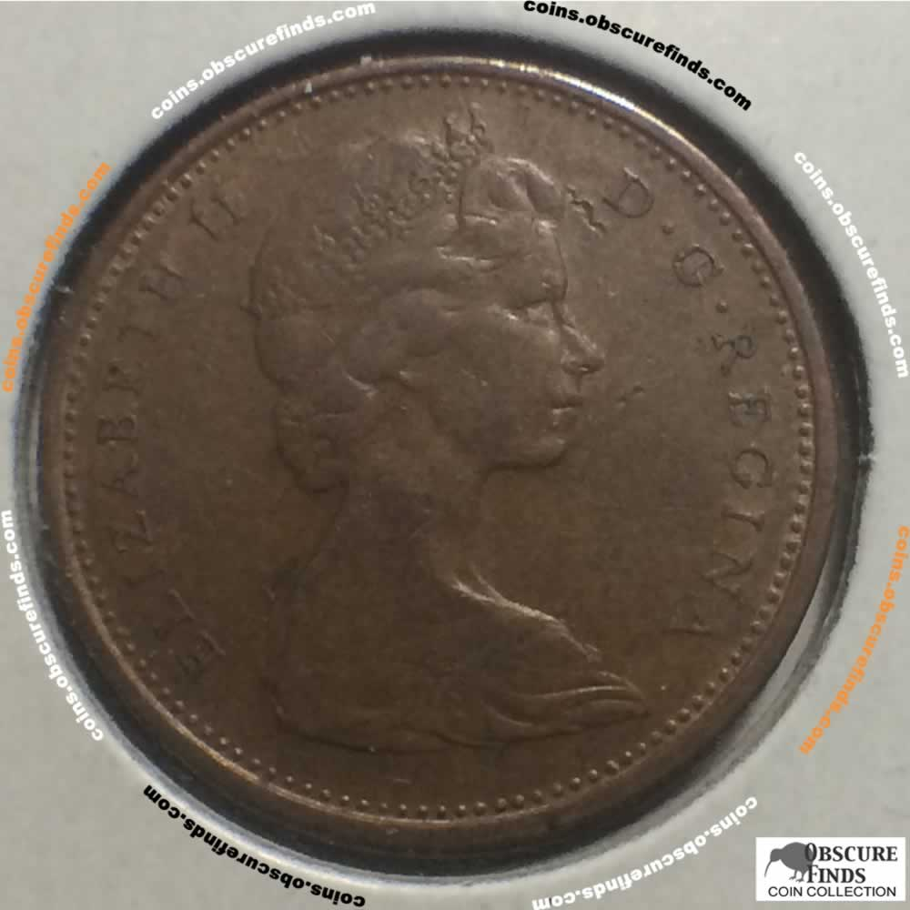 Canada 1966  Canadian One Cent ( 1c ) - Obverse