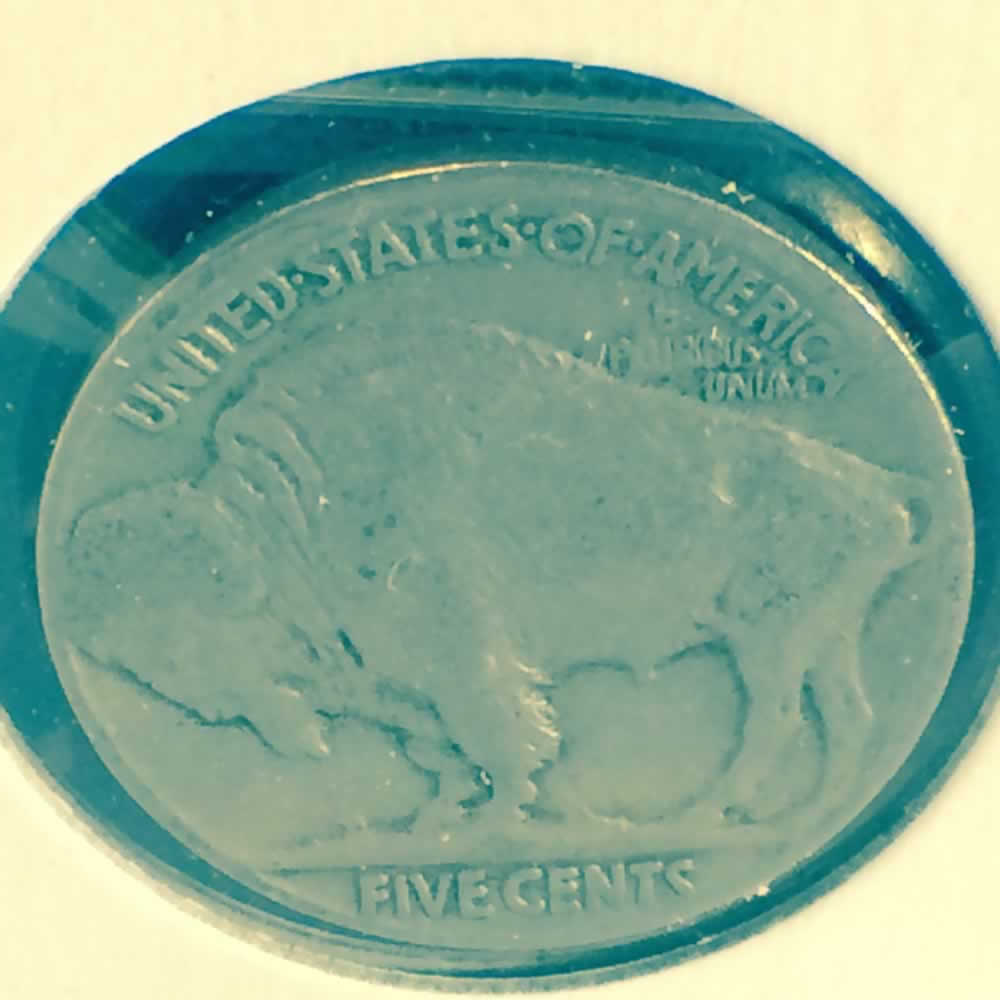 US 1926  Buffalo Nickel ( 5C ) - Reverse