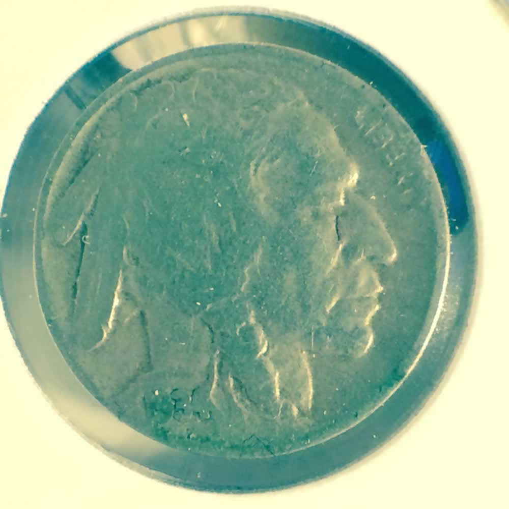 US 1934  Buffalo Nickel ( 5C ) - Obverse