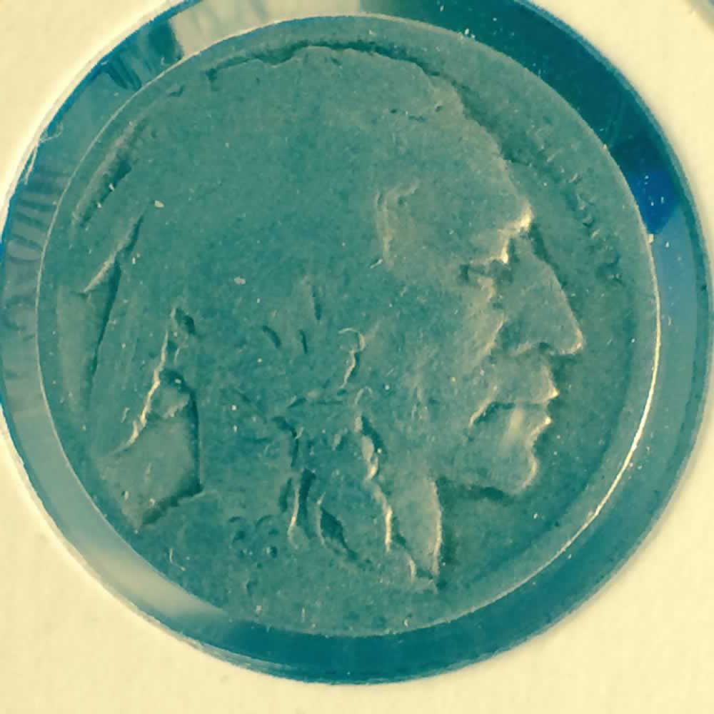 US 1936 D Buffalo Nickel ( 5C ) - Obverse