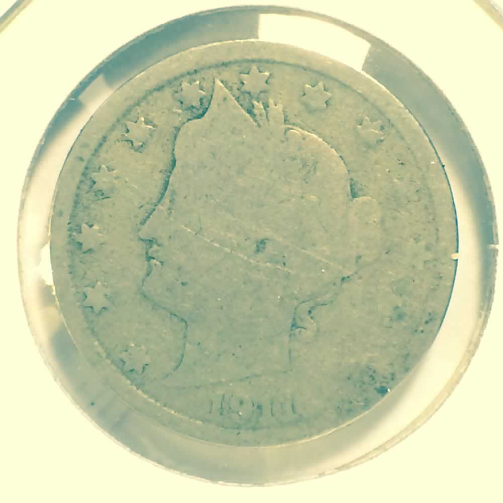 US 1911  Liberty Head 'V' Nickel ( 5C ) - Obverse