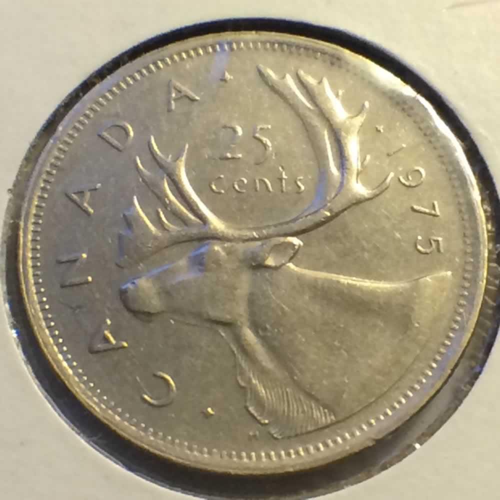 1975 Canada 1968 1978 Elizabeth Ii Canadian Quarter Ofcc Ungraded C25c Ofcc 60 113