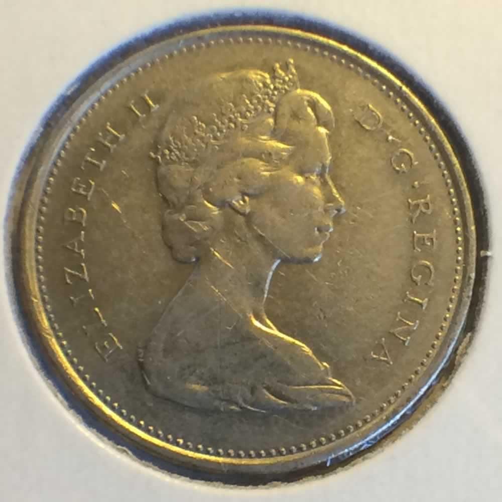 1971 Canada 1968 1978 Elizabeth Ii Canadian Quarter Ofcc Ungraded C25c Ofcc 60 981