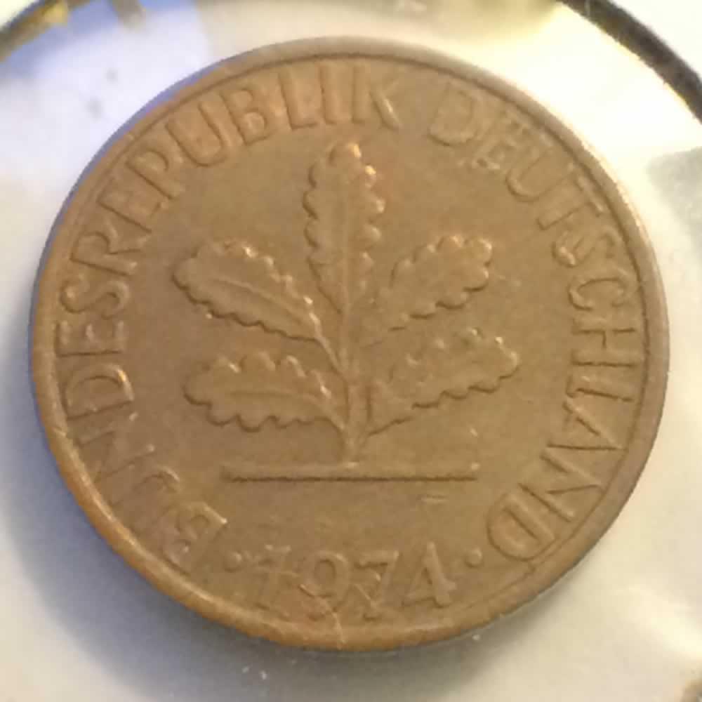 Deutsche Mark 1950 Deutsche Mark 1 Pfennig
