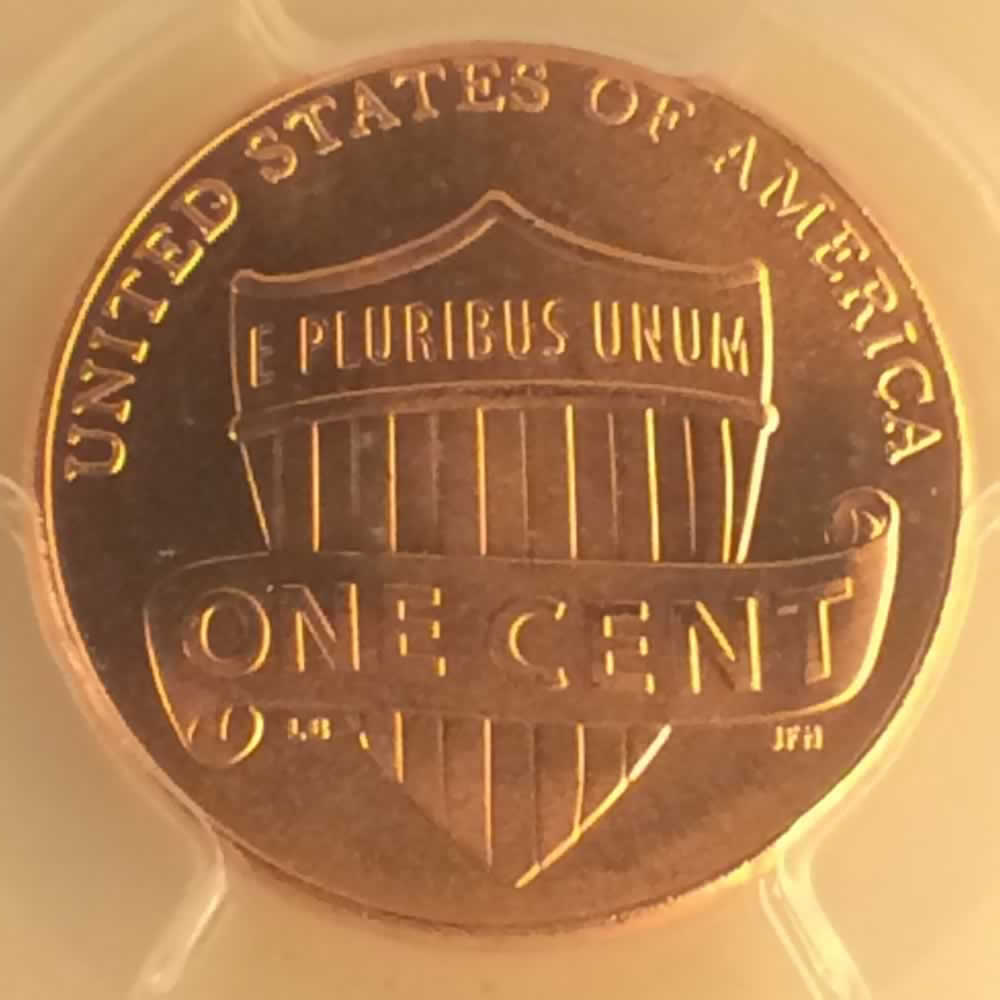 US 2014 D Union Shield Penny ( 1C ) - Reverse