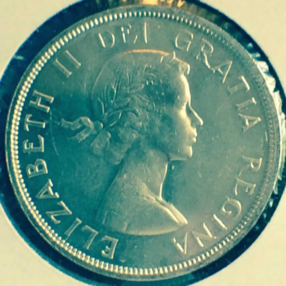 1960 Canada 1953 1963 Elizabeth Ii Canadian Silver